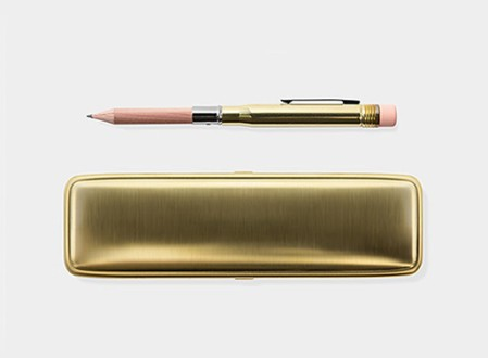 Midori Brass Pencil and Case