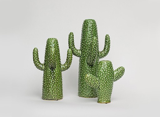 cactus vases accessories better living through design. Black Bedroom Furniture Sets. Home Design Ideas