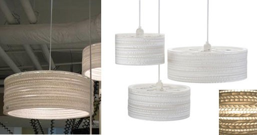 City Honeycombed Hanging Lamp