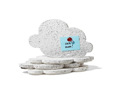 Mini Cloud Cork Board