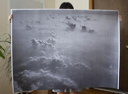 Clouds Poster by Debbie Carlos