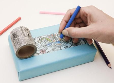 Coloring Washi Tape