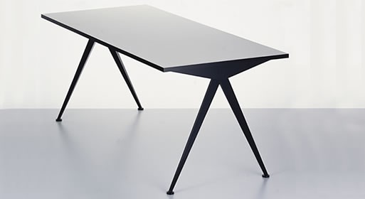 Compas Table by Jean Prouve from Vitra Design