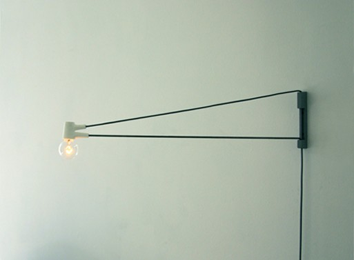 wall lamp with cord this wall cord lamp by. Black Bedroom Furniture Sets. Home Design Ideas