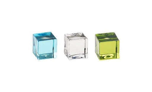 cubic glass blocks
