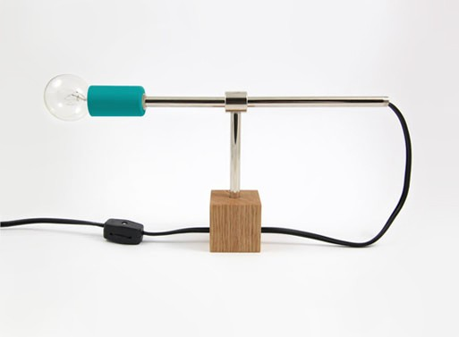 DIY Table Lamp by Dino Sanchez
