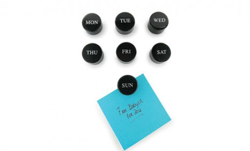 Days of the Week Magnets