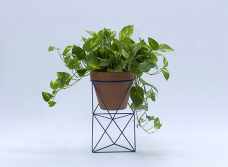 Double Octahedron Ring Planter from Eric Trine