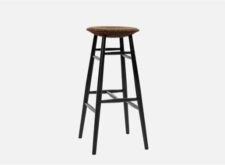 Drifted Bar Stool L
