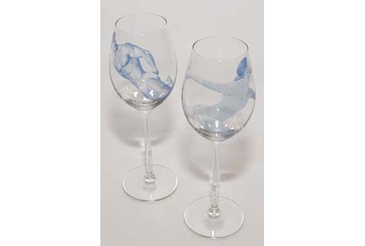 Esther Derkx Wine Glass