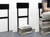 Stack Chair Wall Sticker