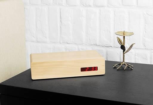 GATOR, digital desk clock