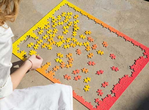 Gradient Puzzle