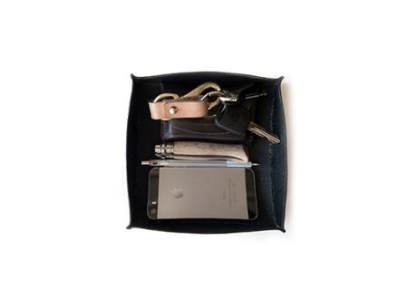 Halflight Leather Valet Tray