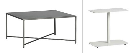 Hedge Coffee Table and Rectangular Side Table
