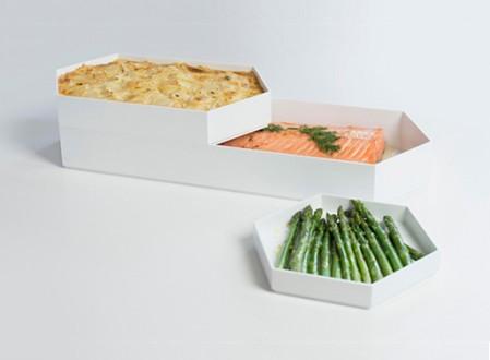 Hex Three Piece Baking Dish Set