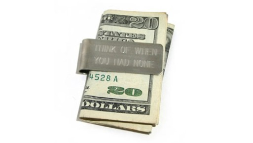 Funny Money Clip