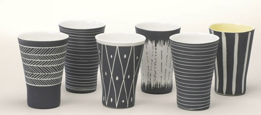 Summer Porcelain Cup Set