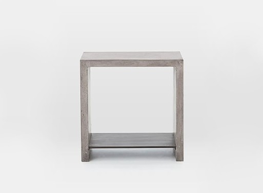 Industrial Concrete Side Table