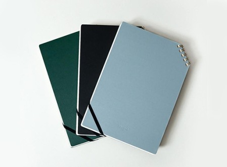 Corner Ring Bound Notepad