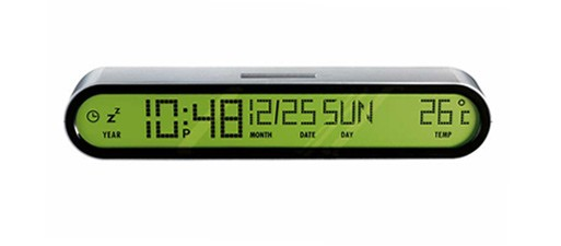 Jetset Travel Clock