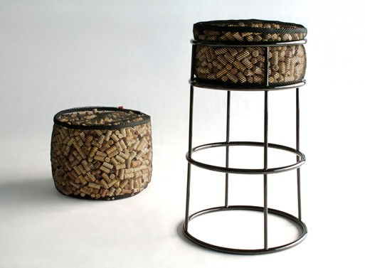Life After Corkage Bar Stool + Ottoman