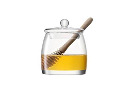 Honey Pot & Oak Dipper