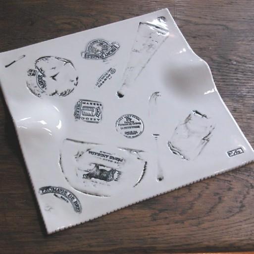 Ceramic Cheese Plate