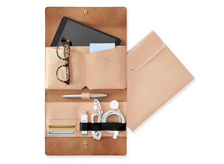 Leather Tech Envelope