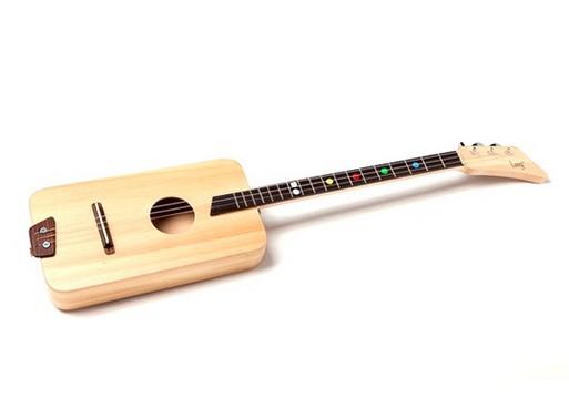 Wooden Beginner's Guitar