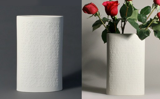Love Is Blind Vase by Jessica Lertvilai