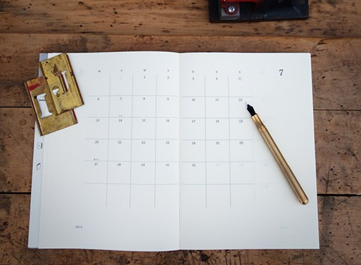 Midori MD 2015 Monthly Notebook