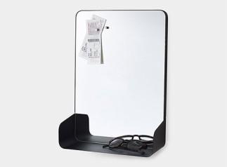 Magnetic Mirror Shelf