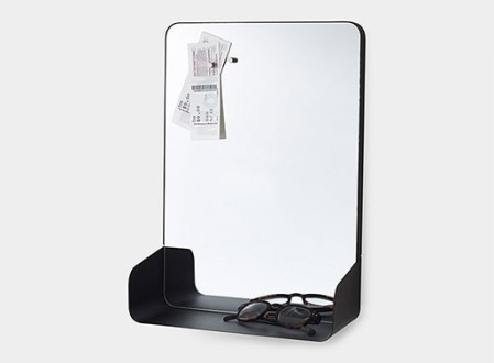 Magnetic Mirror Shelf