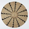 miac whirlwind jute rug  accessories  better living through design, pottery barn 6' round jute rug, round jute rug 6'