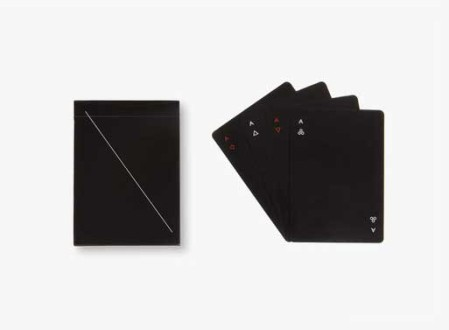 Minim Playing Cards (Black)