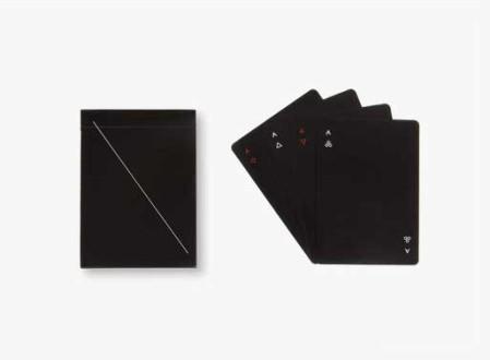 Minim Playing Cards (Black)