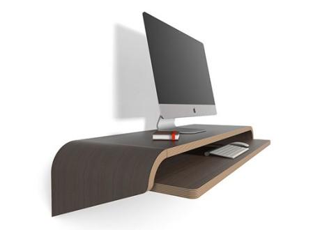 Minimal Float Wall Desk