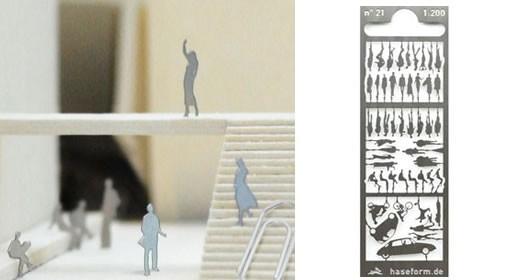Modellfiguren by Hannes Freising