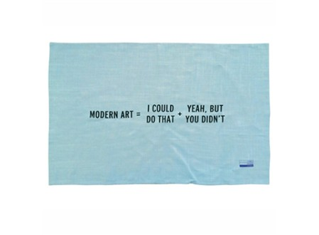 Modern Art Kitchen Towel by Craig Damrauer