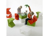 El Ultimo Gritto: K Blocks Table/Seating