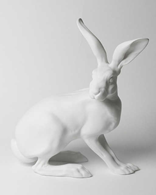 Porzellan Manufaktur Nymphenburg Hare