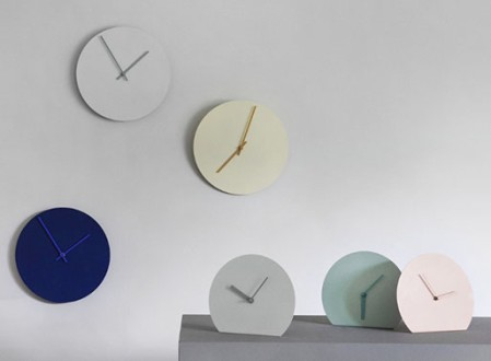 Norm Steel Wall Clock