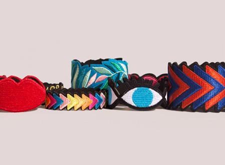 OMY Embroidered Bracelets
