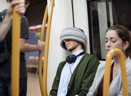 Ostrich Travel Pillow