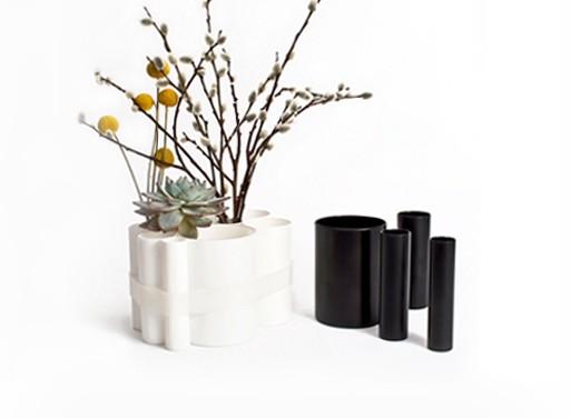 Opaline Glass Modular Vase