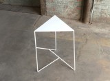 Geometric Steel Side Table by PWHFurniture