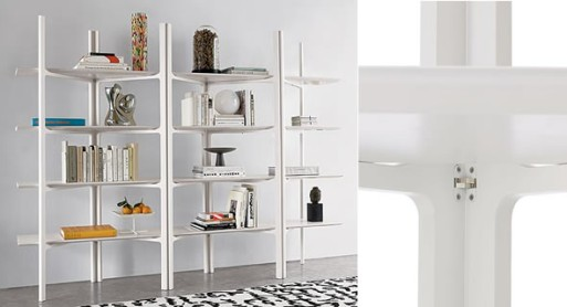 Parallel Shelving Lacquer