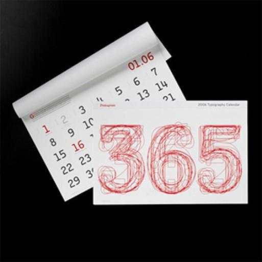 calendar by Pentagram