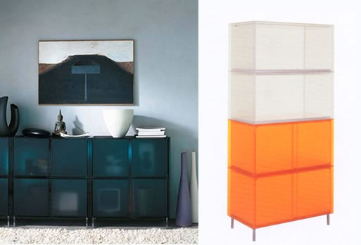 One Storage by Piero Lissoni for Kartell